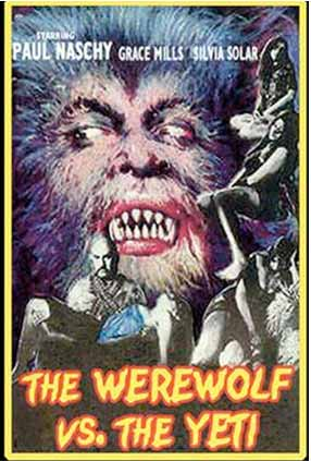 The werewolf vs the Yeti